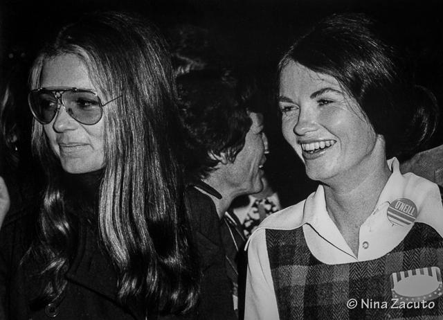 Gloria Steinem - Cathy O'Neill 1972